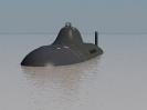 Soviet alfa class submarine